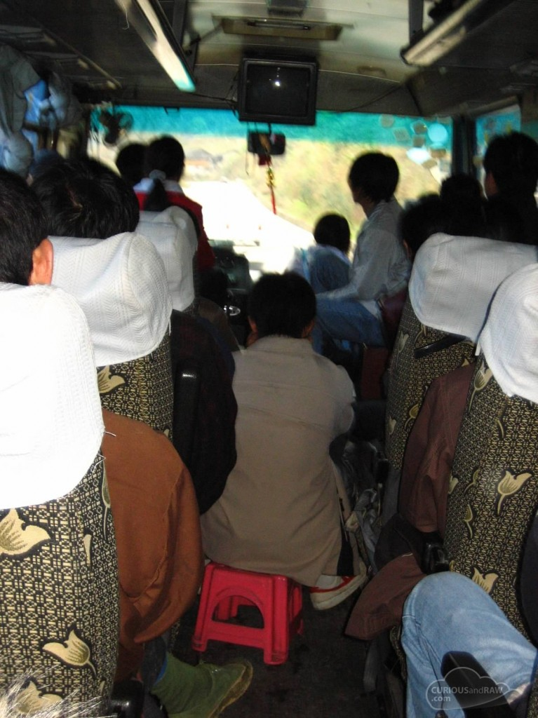 Bus ride to Longsheng
