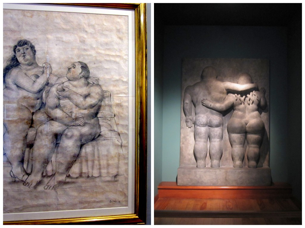 Botero and coin museum