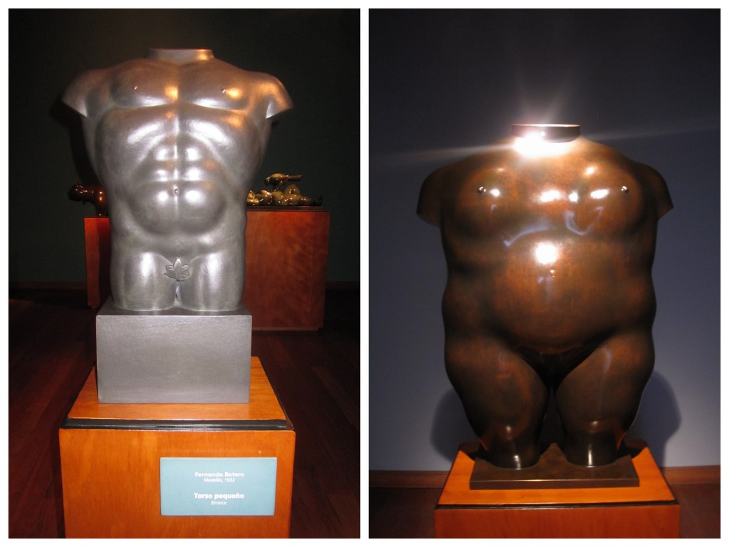 "The ""small"" torso and the ""normal"" torso in his eyes."