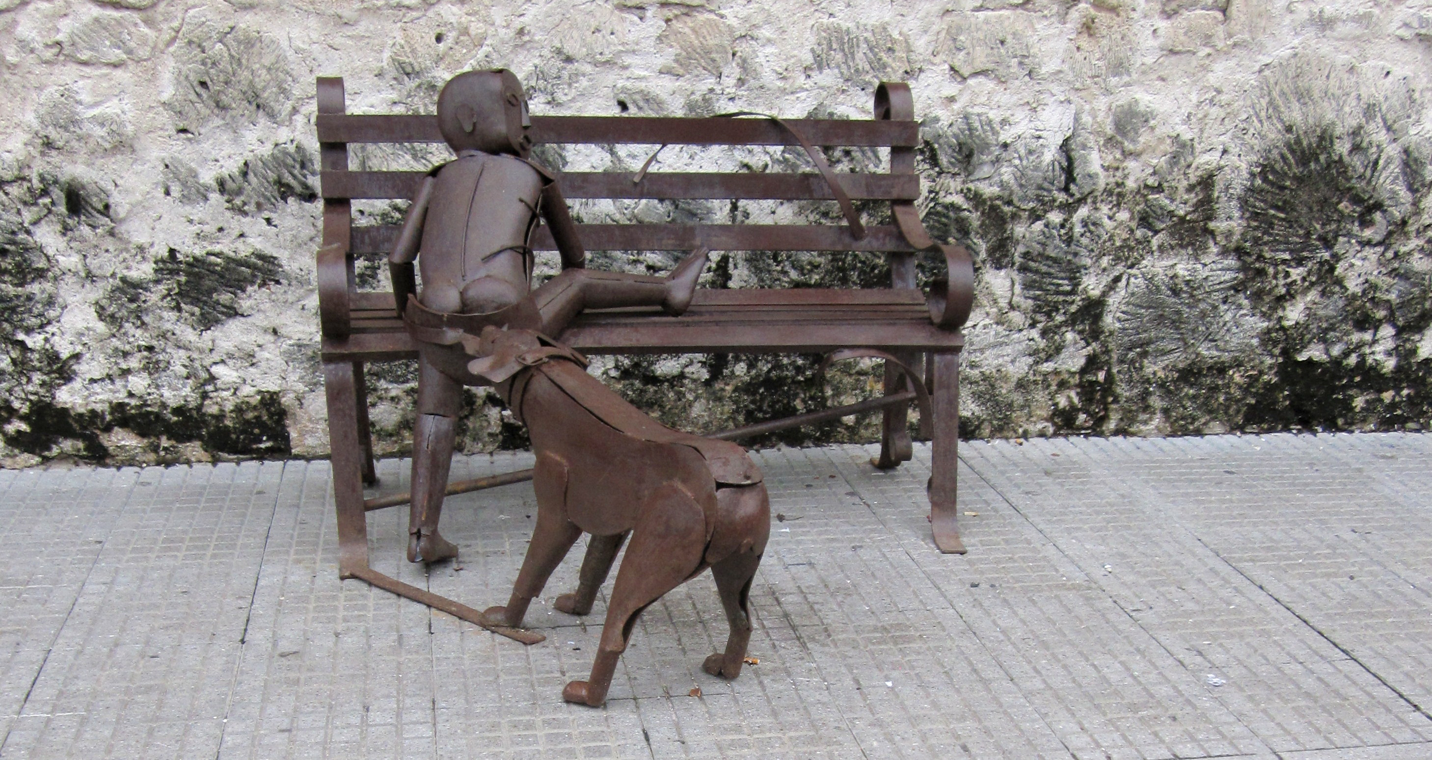 Sculpture in Cartagena
