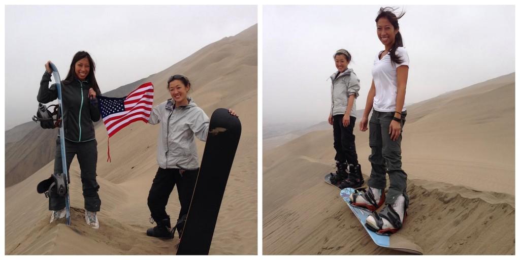Biggest sand hill, no turning back!