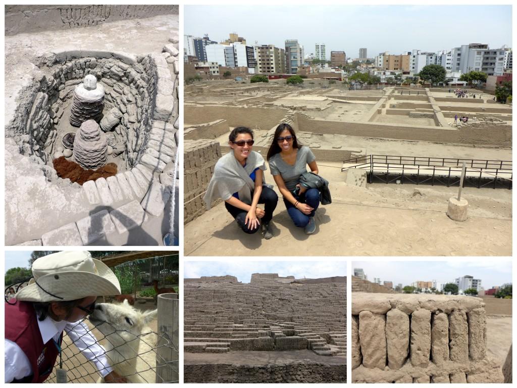 Huaca Pucllana ruin in Lima