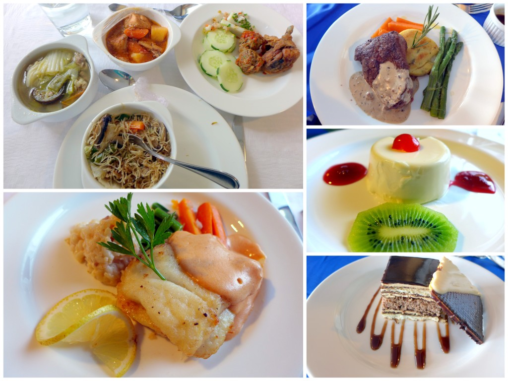 Food on the ship had a different theme each day and was very delicious.